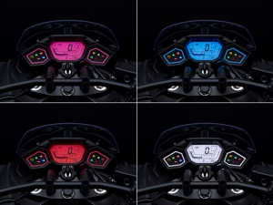panel indikator yang dapat berubah warna